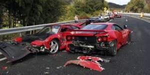 expensive car crash