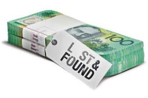 Lost Bundles of Australian Cash