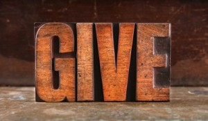 the word give