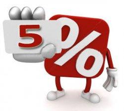 5-percent-interest