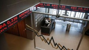 Greek Stock Market Plunges