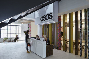 Asos share price rises
