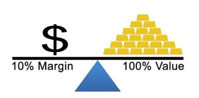 Large margin in forex brokers