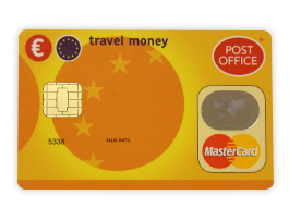 post office travel money card plus