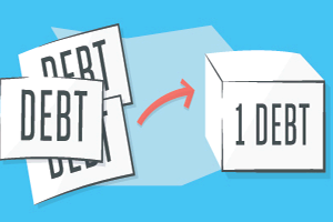 Debt consolidation process