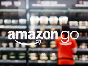 Amazon Go Store and Logo