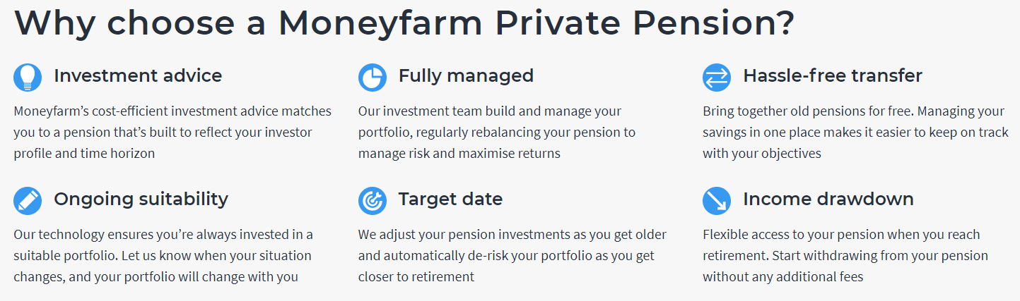 moneyfarm pension info