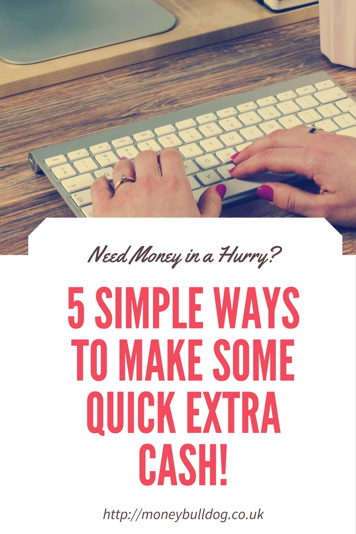 5 Simple Ways to Make Some Quick Extra Cash