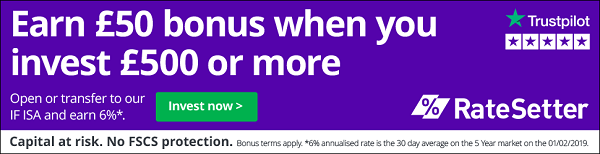 Earn £50 bonus when you invest £500 or more