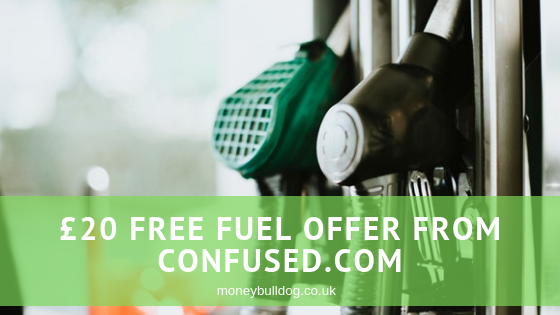 £20 Free Fuel Offer from Confused.com