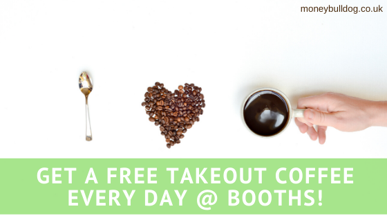 Get a Free Takeout Coffee Every Day @ Booths!
