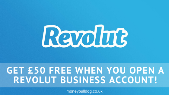 Get £50 Free when you open a Revolut Business Account